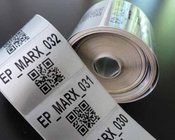 etiquette marquage mats eclairage public